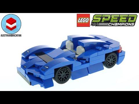 Vidéo LEGO Speed Champions 30343 : McLaren Elva (Polybag)