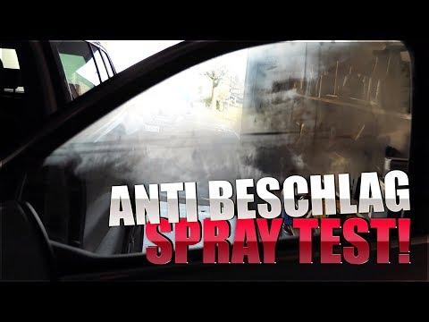 Sonax ANTI BESCHLAG SPRAY Test gegen Beschlagene Autoscheiben