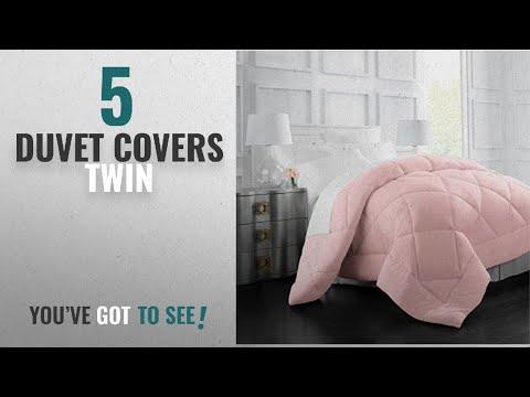 Top 10 Duvet Covers Twin [2018]: Egyptian Luxury Goose Down Alternative Comforter - All Season -
