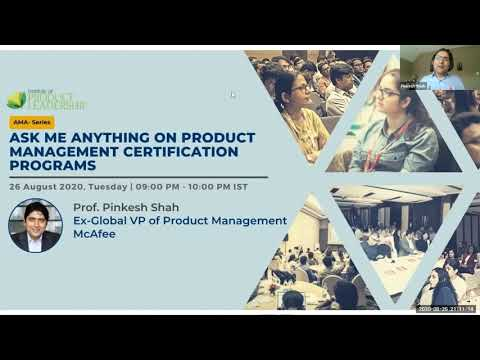 AMA on Product Management Certification Programs With Prof ...