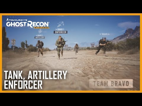 Tom Clancy's Ghost Recon Wildlands: Ghost War Classes: Tank, Artillery, Enforcer | Trailer | Ubisoft