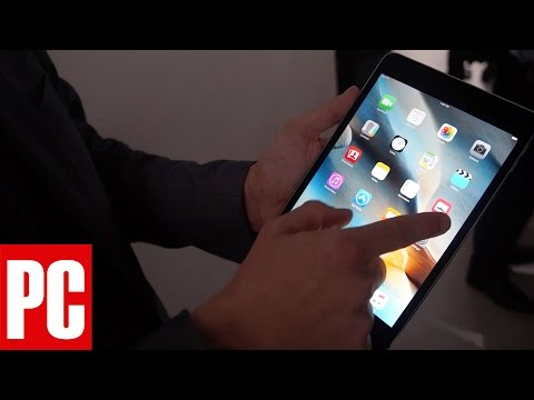 Hands on with the iPad Mini 4