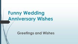Funny Wedding Anniversary Wishes 2020