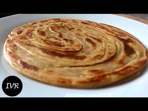 """Lachha Paratha/Multi-Layered Indian Bread"" 