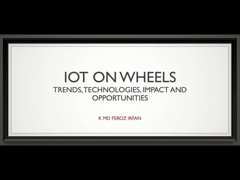 IoT on Wheels (FDP5 19Jun2020 GhousiaCE)