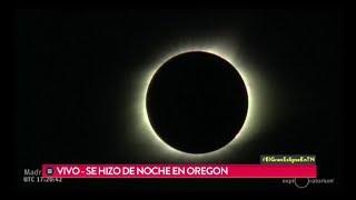 Así se vivió el Gran Eclipse Americano en vivo por TN