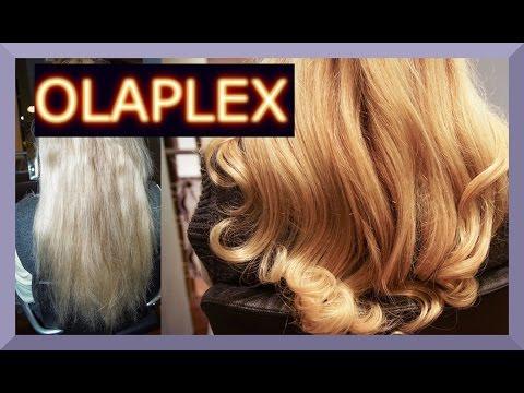 KAPUTTE HAARE REPARIEREN MIT OLAPLEX BEHANDLUNG I ANWENDUNG I before and after I Blond