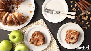 How To Make Apple Harvest Pound Cake | Holiday Desserts | Allrecipes.com