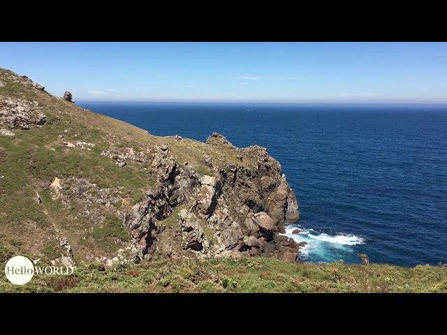 Küstenweg Richtung Vilar de Duio