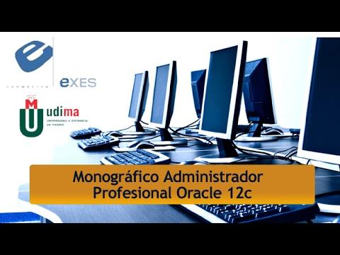 Curso Monográfico Administrador Profesional Oracle 11g de Curso Monográfico Administrador Profesional Oracle 12c en Exes Formación