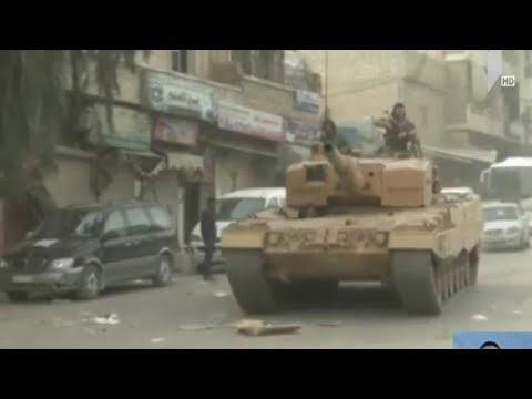 თურქეთი სირიაში სამხედრო ოპერაციას განაგრძობს