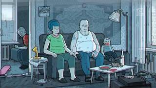 THE SIMPSONS. Russian Art Film Version // Симпсоны. Артхаусная русская версия