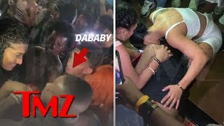 DaBaby Security Knocks Female Fan Out Cold During Concert