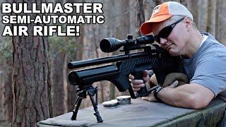 Пневматическая винтовка Hatsan BULLMASTER от компании CO2 - магазин оружия без разрешения - видео