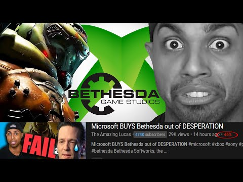 PS5 Fanboys Have Mental Breakdown Over Microsoft Buying Bethesda | Amazing Lucas Hates Xbox Series X
