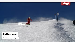 Ski Lessons: Short Turn Techniques   Online Ski Course