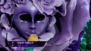 "Flower sings ""Cheap Thrills"" by Sia 