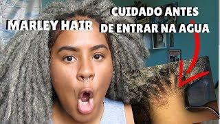 PODE ENTRAR COM MARLEY HAIR NO MAR?