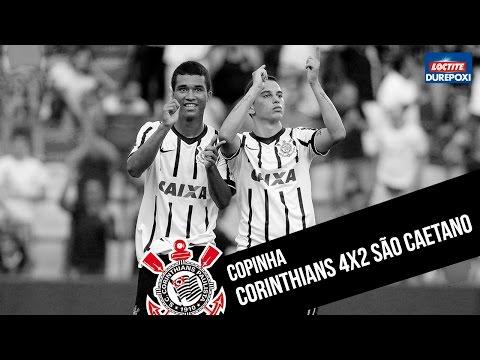 #Copinha | Corinthians 4x2 São Caetano