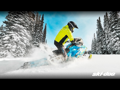 2018 Ski-Doo Renegade Backcountry X 850 E-TEC ES Ice Cobra 1.6 in Unity, Maine - Video 1