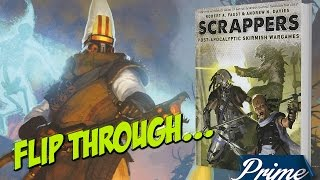Scrappers - Osprey Games Flip through