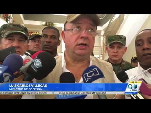 Autoridades intensifican búsqueda de ocho personas secuestradas en Nóvita, Chocó
