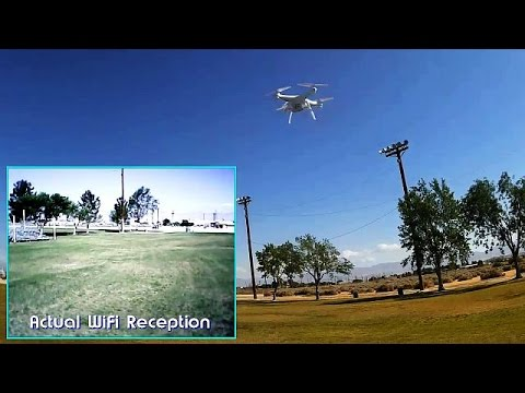 Syma X5SW Drone FPV Test Flight