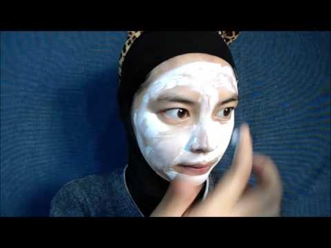 3D facial mask na may Aloe Vera