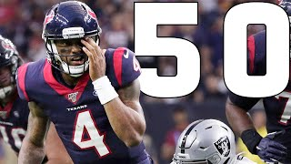 Top 50 Throws of the 2019 NFL Season