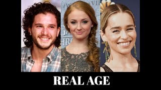 Game Of Thrones Cast Real Name And Age 2019