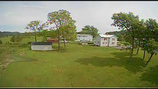 FPV flying around the yard