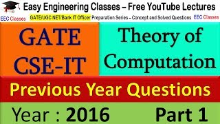 Find Regular Expression for 2 consecutive 0 and 1 - TOC GATE 2016 Solved Questions