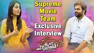 Supreme Movie Team Exclusive Interview