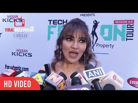 Tina Ahuja at Exhibit Tech Fashion Tour | Viralbollywood