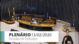 Plenário - Sessão de debates do Plenário - 13/02/2020 14:00