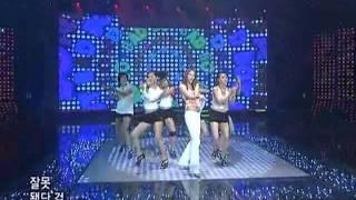 Sondambi-Bad boy (손담비-배드보이) @SBS Inkigayo 인기가요 20080511