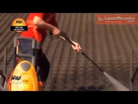 Lavadora de Alta Pressão com Motor de Indução 1800PSI  - Bravo - Video