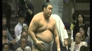 貴ノ岩×時天空2014/5/15夏場所5日目幕内ハイライト