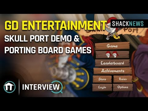 GD Entertainment - Skull Port Demo & Porting Board Games