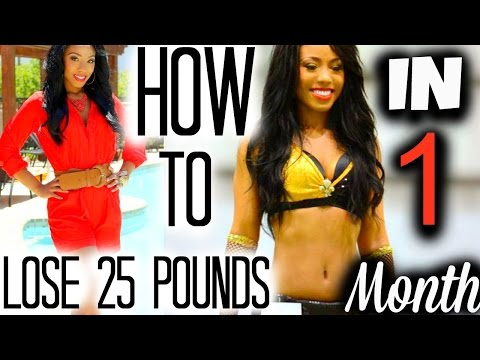 Video How I Lost 25 Pounds In a Month