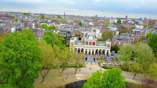 АМСТЕРДАМ 🇳🇱 с высоты  Нидерланды. Лучший видео обзор, новинка. (4K)