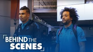 Real Madrid Vs PSG: 3 1 | Behind The Scenes