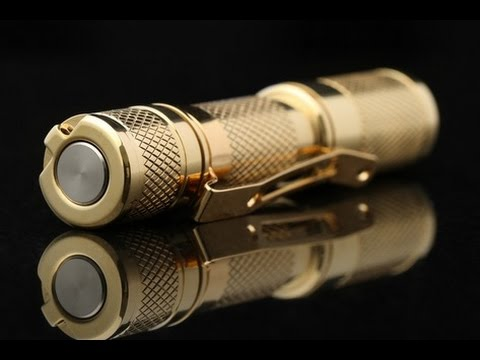 Massdrop Brass AAA Flashlight Review