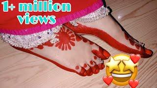 #Easy_aalta_design #आलता डिजाइन जो है मेरे चैनेल के नाम पे 🤔 lesson-17 #Lovepink_Creative_Homemaker