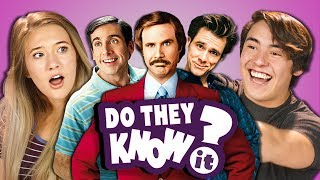 DO TEENS KNOW 2000s COMEDY MOVIES? (REACT: Do They Know It?) - Video Youtube