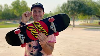 SMALLEST BOARD WE MAKE! SUPER MICRO SK8 COMPLETE Product Challenge | Santa Cruz Skateboards