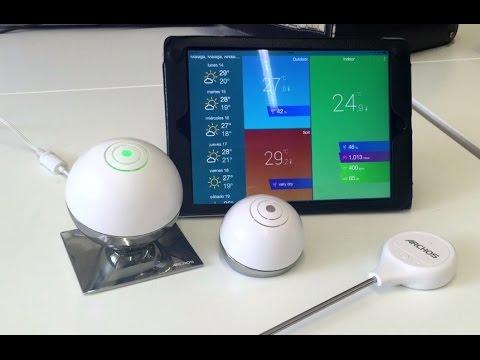 Estación meteorológica para android e iOS por wifi