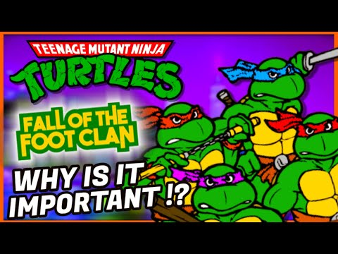 Teenage Mutant Ninja Turtles History  -TMNT Fall of the Foot Clan