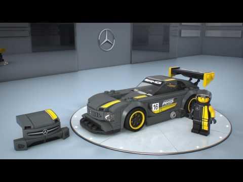 Конструктор Mercedes-AMG GT3 - LEGO SPEED CHAMPIONS - фото № 3