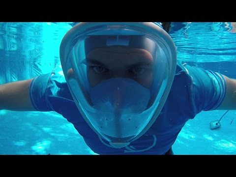 GoPro Snorkelling Full Face Mask Review | DansTube.TV
